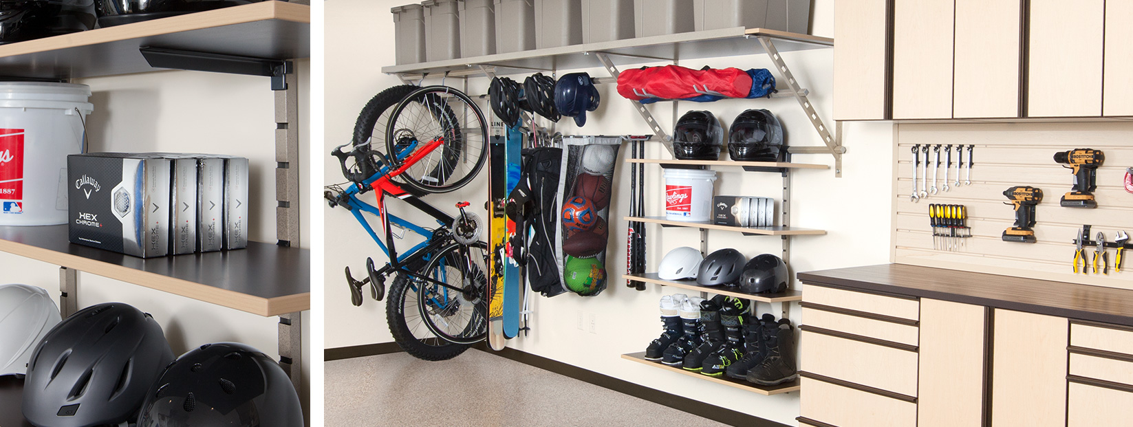 Garage Shelving System Logan
